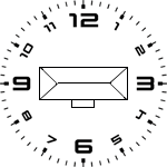 Tank Location Clock